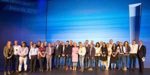 The 2015 Bertelsmann Entrepreneurial Award Winners