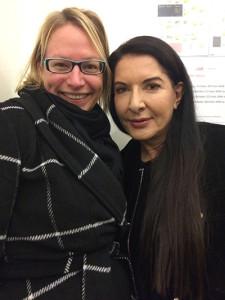 Tricia Boczkowski and Marina Abramović