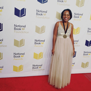 Nicola Yoon at the National Book Awards
