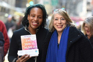 Nicola Yoon and Barbara Marcus