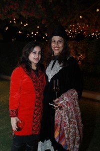 Shobhaa De with Milee Ashwarya, Editor in Chief at the 30th anniversary celebrations in India
