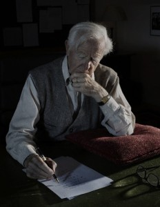 John le Carré. Photo by Nadav Kandar