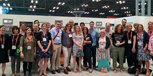 book expo group photo
