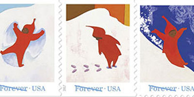 The Snowy Day Forever Stamps To Be Issued On October 4