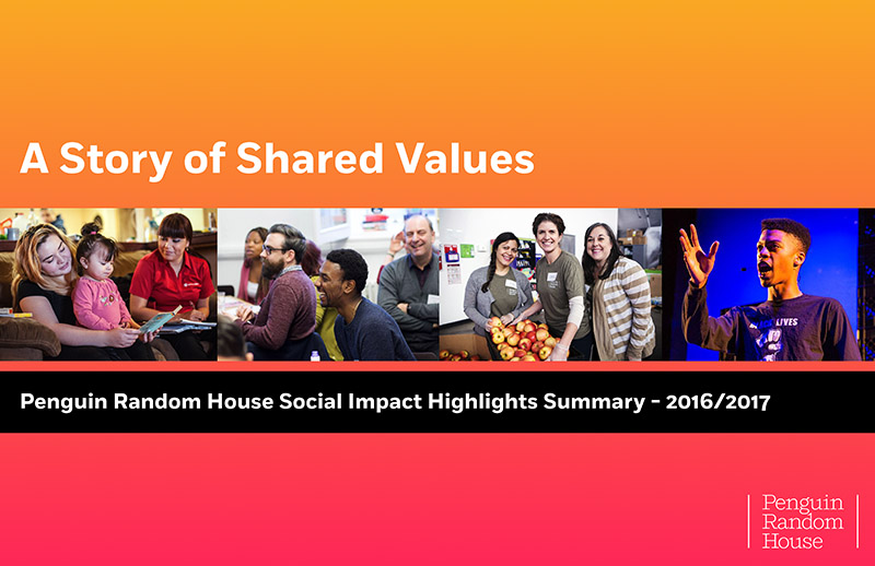 Prh a story of shared values 1g penguin random house social impact highlights summary fandeluxe Images