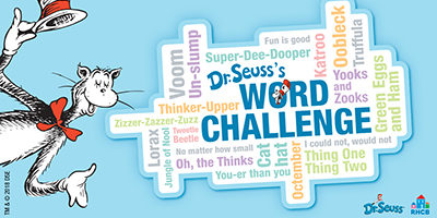 In Celebration Of The Newly Published DR SEUSSS 100 FIRST WORDS Random House Childrens Books RHCB And Dr Seuss Enterprises DSE Launched