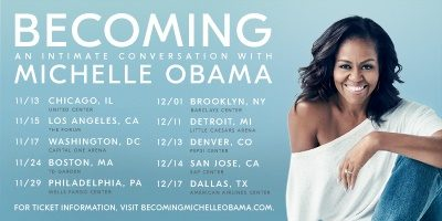 "BECOMING: An Intimate Conversation with Michelle Obama"" to Make"